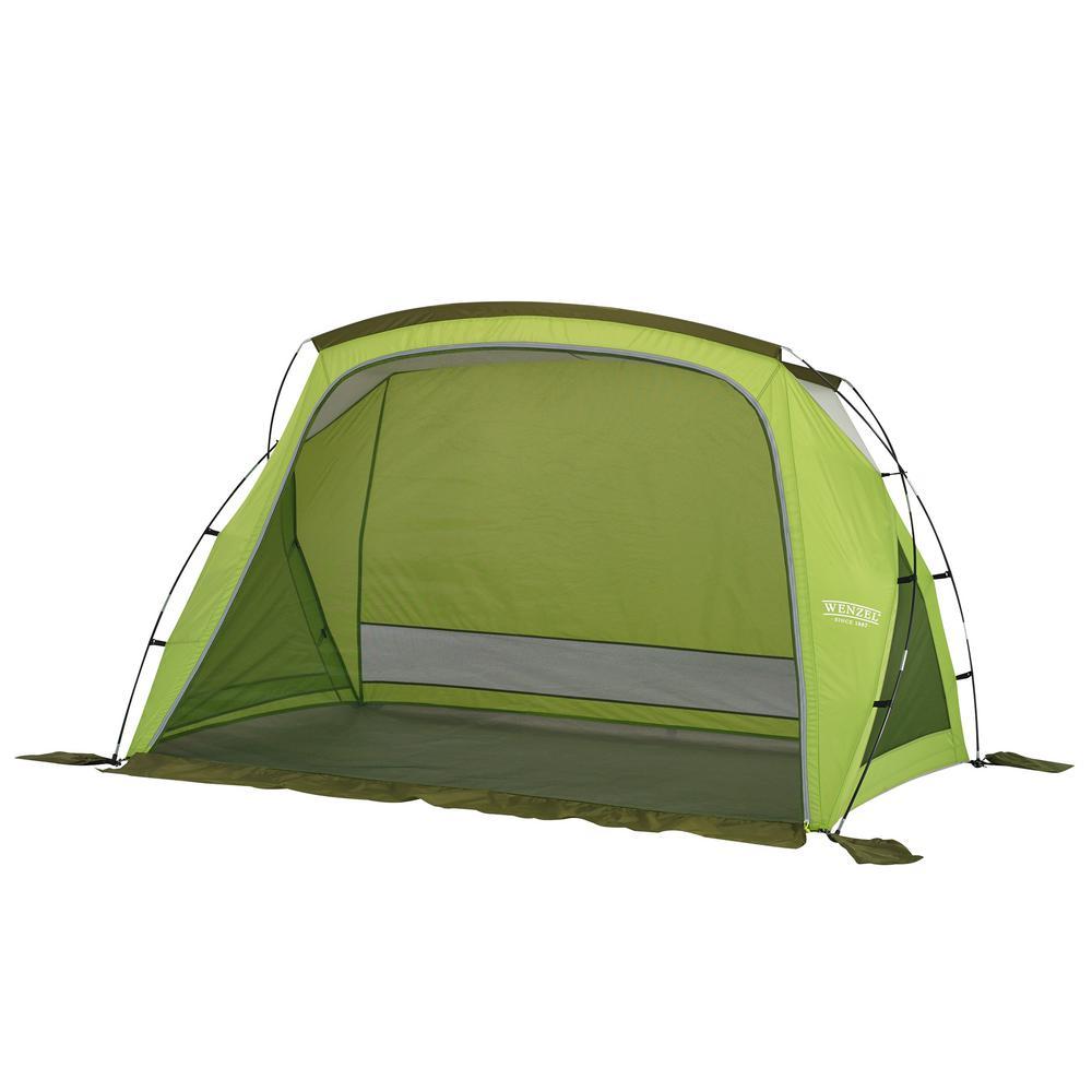Grotto Portable Outdoor Beach Camping Cabana Sun Shade Shelter in Green