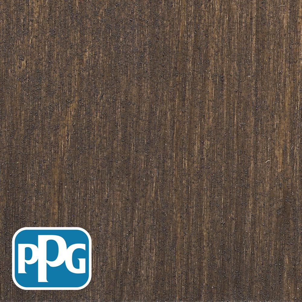PPG TIMELESS 1 gal. TPO-14 Oxford Brown Transparent Penetrating Wood Oil Exterior Stain