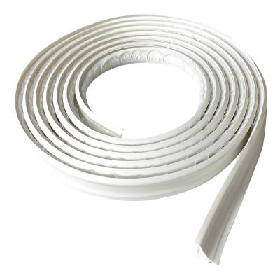 3/4 in. x 10 ft. White PVC Inside Corner Self-adhesive Flexible Trim Molding
