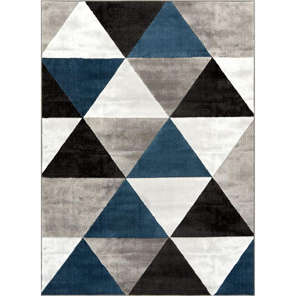 Well Woven Dulcet Retro Shapes 9 Ft X 13 Ft Mid Century Modern