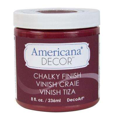 Americana Decor 8 oz. Rouge Chalky Paint