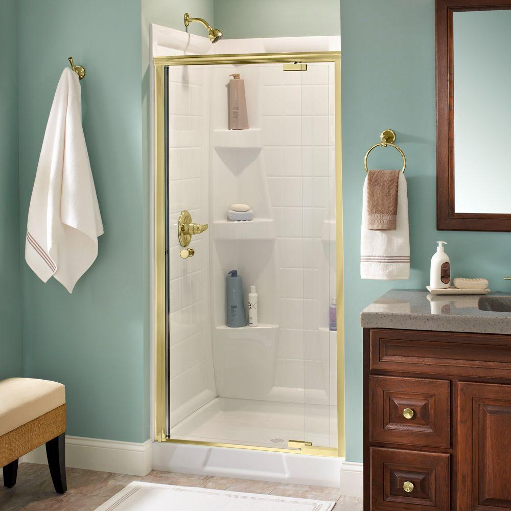 Delta lyndall 36 in x 66 in semi frameless pivot shower door in delta lyndall 36 in x 66 in semi frameless pivot shower door in planetlyrics Gallery