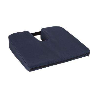 Sloping Coccyx Cushion in Navy