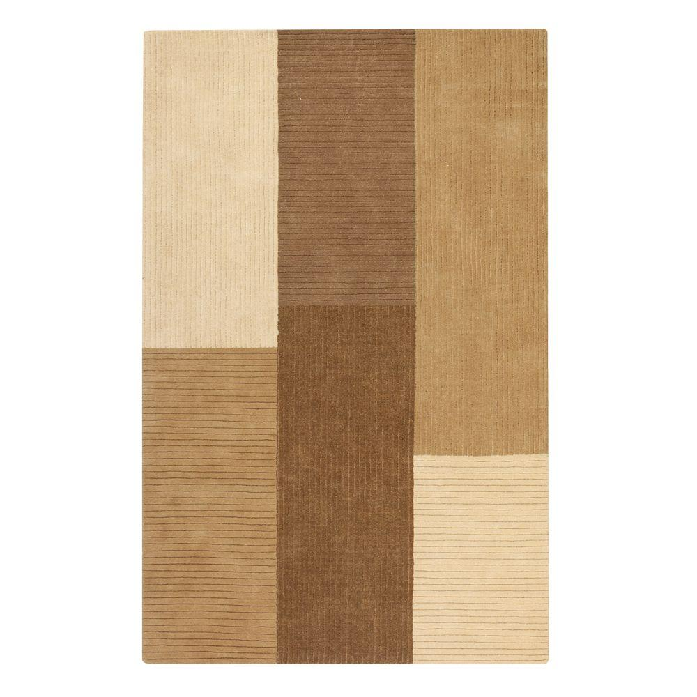 Home Decorators Collection Crete Beige 9 ft. 6 in. x 13 ft. 9 in. Area Rug
