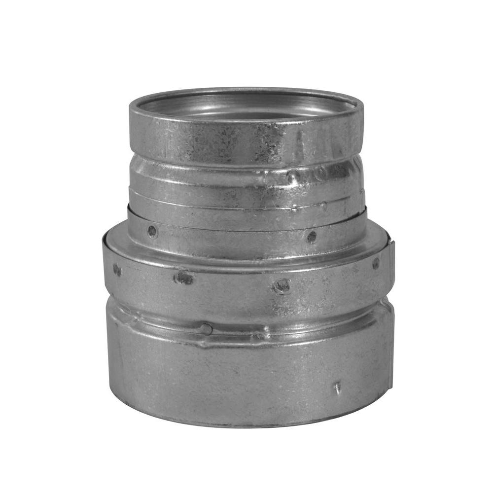Selkirk 5 In X 4 In Round Gas Vent Reducer 105364 The