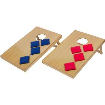 24 in. Mini Tabletop Bean Bag Toss Game For Indoor Use
