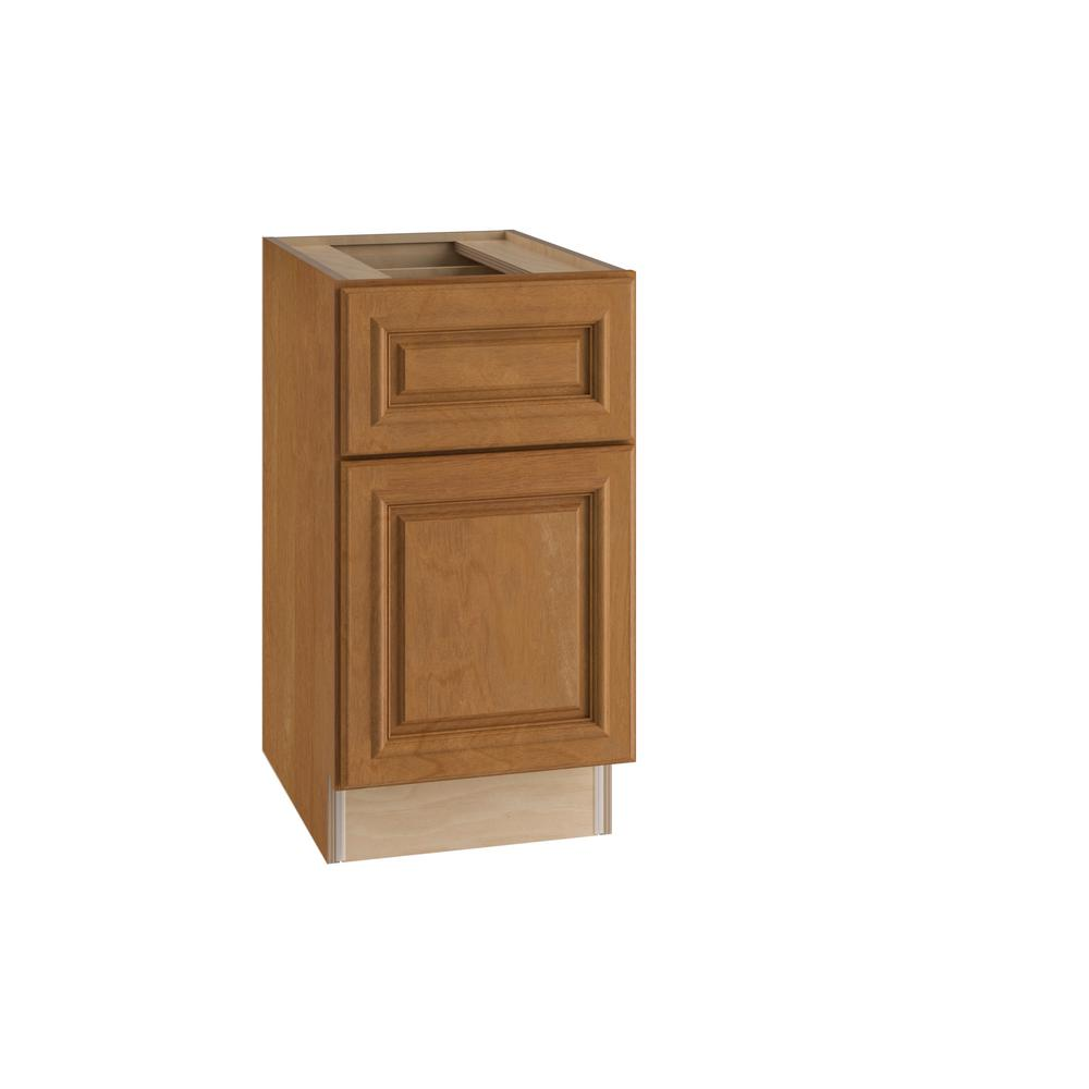 Dartmouth Assembled 15x28.5x21 in. Single Door & Drawer Hinge Right Base