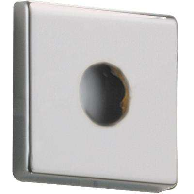 Arzo 2 in. Square Shower Arm Flange in Chrome