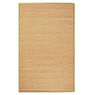 Woolen Jute Dark Natural 4 ft. x 6 ft. Area Rug