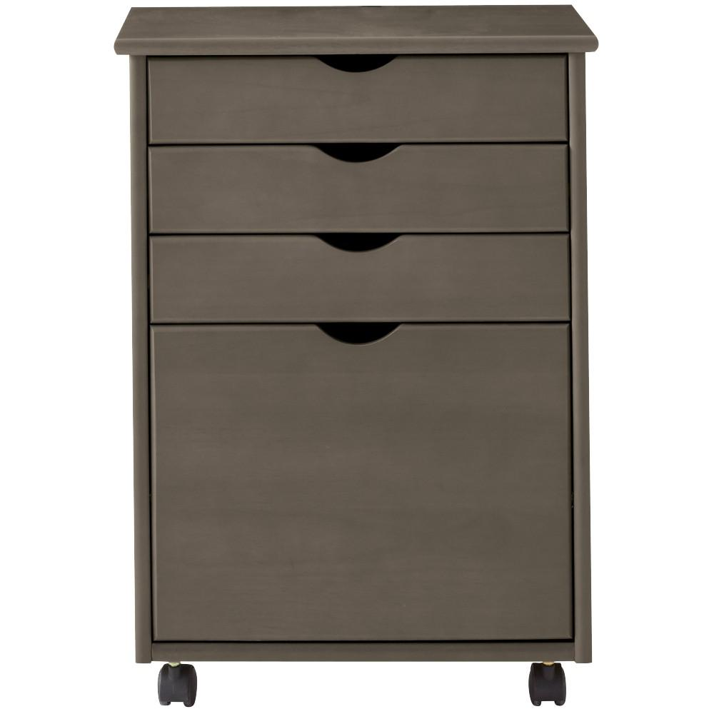 Home Decorators Collection Stanton 20 in. W 4-File Storage Cart in Antique Grey  sc 1 st  Home Depot & Home Decorators Collection Stanton 20 in. W 4-File Storage Cart in ...