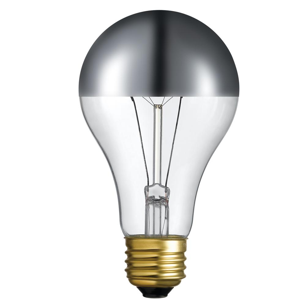 60-Watt Designer Vintage Incandescent Plata Light Bulb