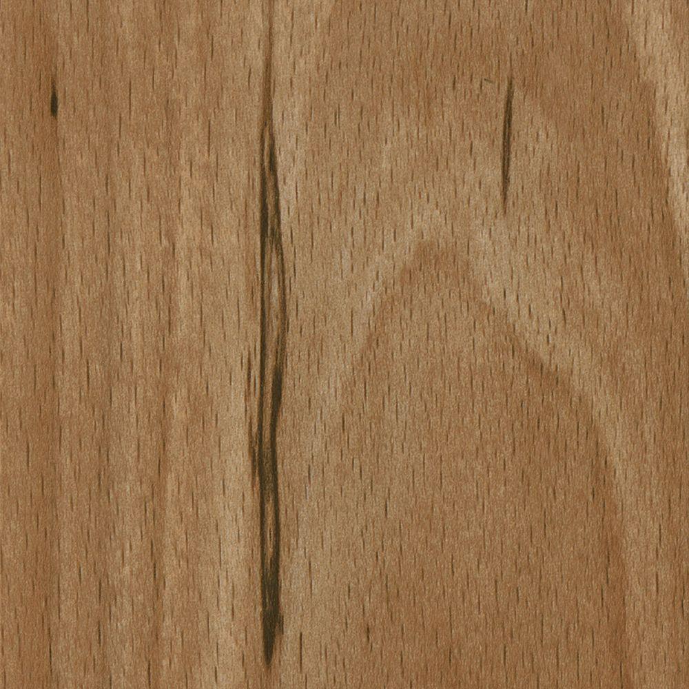 TrafficMASTER Take Home Sample - Allure Plus Sahara Wood Resilient Vinyl Plank Flooring - 4 in. x 4 in.