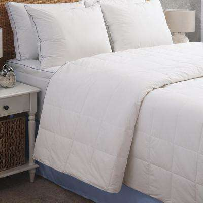 Serenity Cool PCM 100% Cotton Down Alternative Filled Full/Queen Blanket