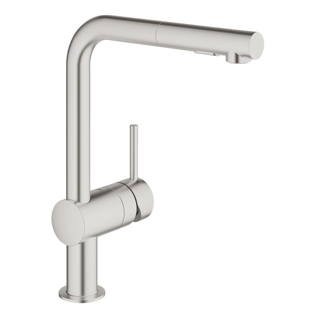 GROHE - Supply Lines - Stainless Steel - Kitchen Faucets - Kitchen ...