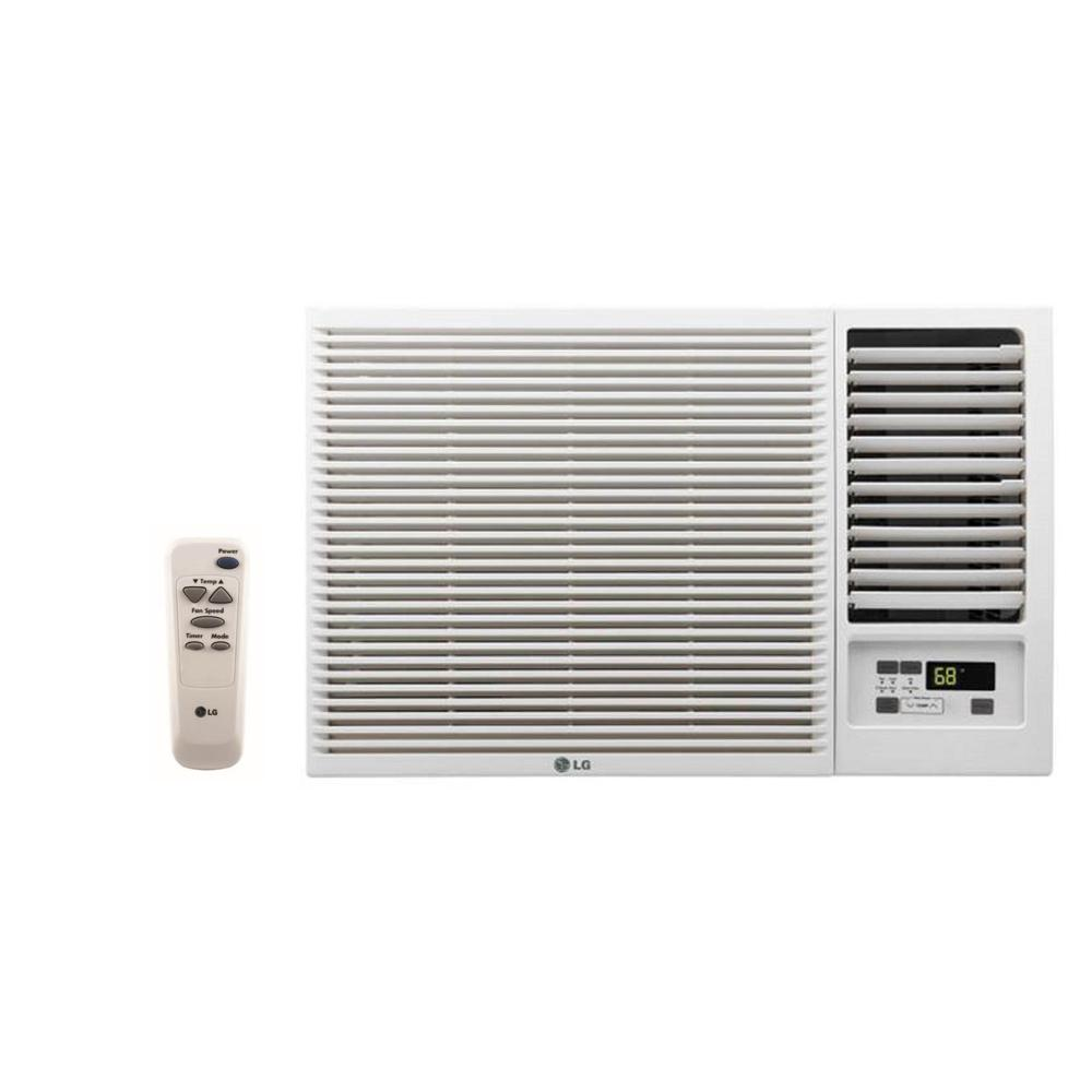 [GJFJ_338]  LG Electronics 23,000 BTU 230/208-Volt Window Air Conditioner with Cool,  Heat and Remote in White-LW2416HR - The Home Depot | Lg Window Unit Capacitor Wiring Diagram |  | The Home Depot