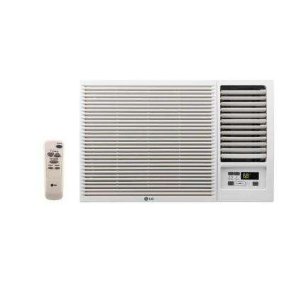 23,000 BTU 230/208-Volt Window Air Conditioner with Cool, Heat and Remote