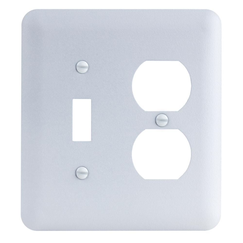 Commercial Electric Network and Coax Wall Plate-217F 8C WH - The ...