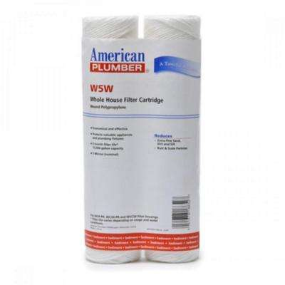 Whole House Sediment Filter Cartridge (2-Pack)