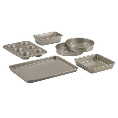 Chef's Classic 6-Piece Champagne Bakeware Set