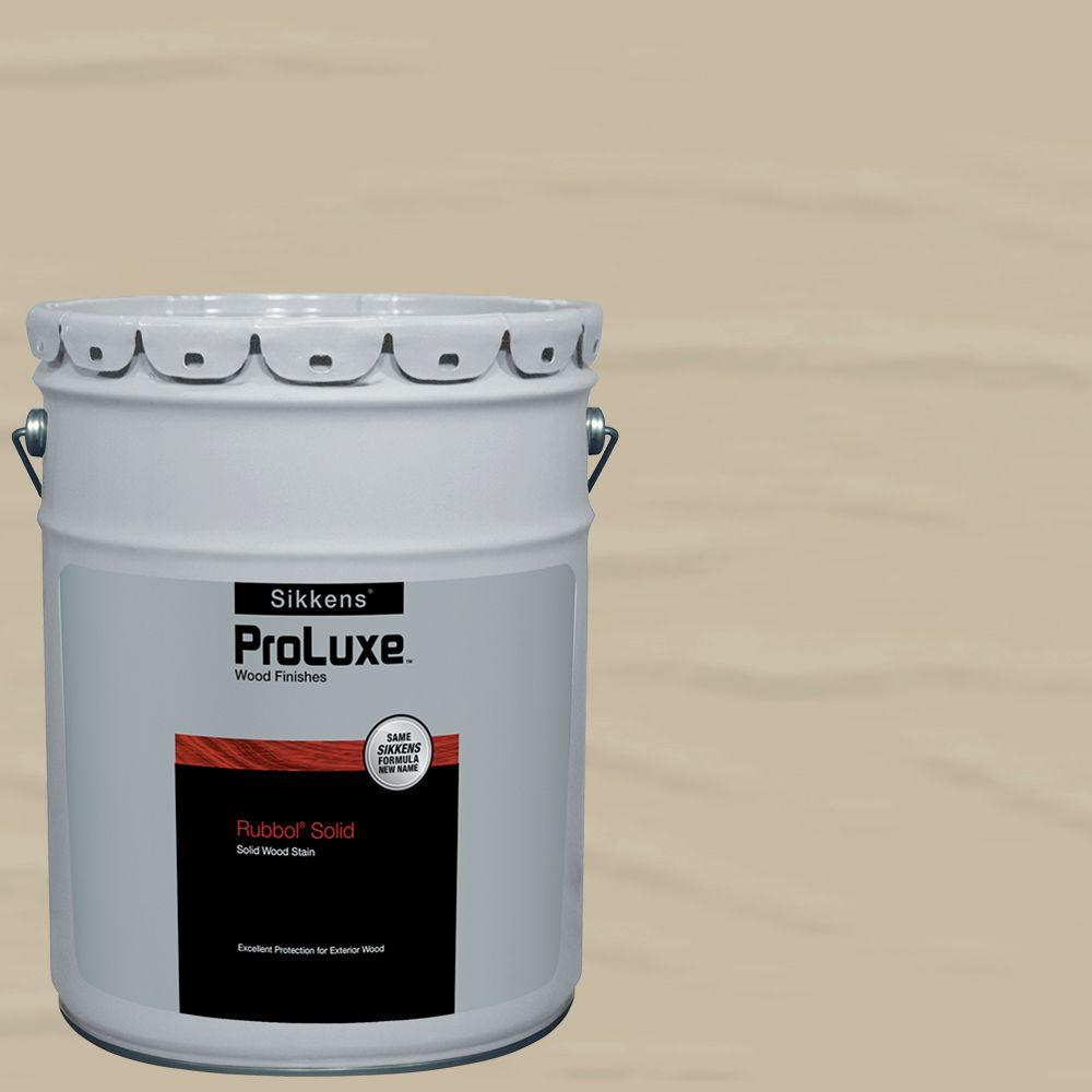 Sikkens ProLuxe 5-gal. #HDGSIK710-204 Sandstone Rubbol Solid Wood ...