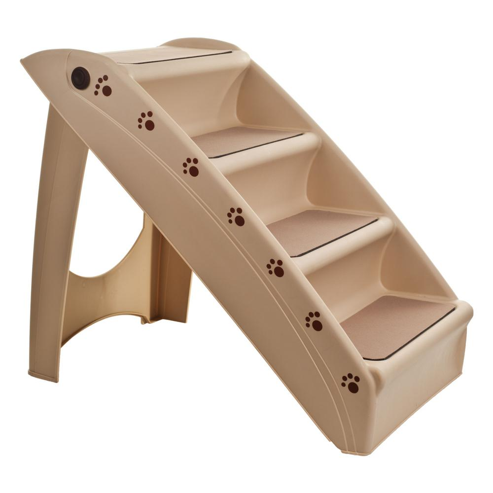 Petmaker Folding Plastic Pet Stairs