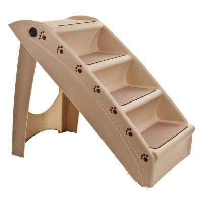 Folding Plastic Pet Stairs