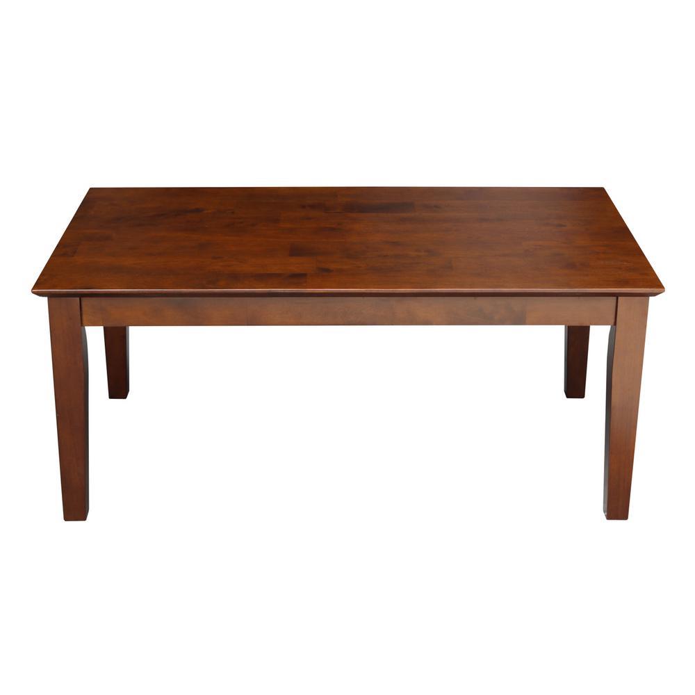 dc439dfa0d64 International Concepts Hampton Unfinished Coffee Table-OT-70C - The ...
