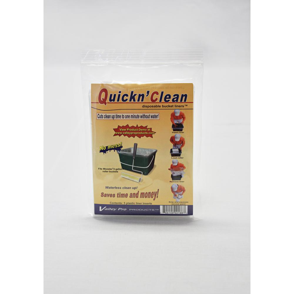 Paint Bucket Liners (5-pack)