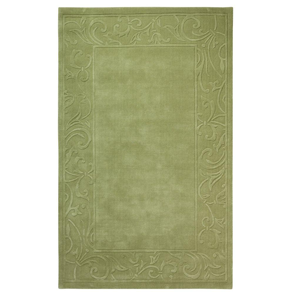 Home Decorators Collection Cyrus Sage 5 ft. 3 in. x 8 ft. 3 in. Area Rug