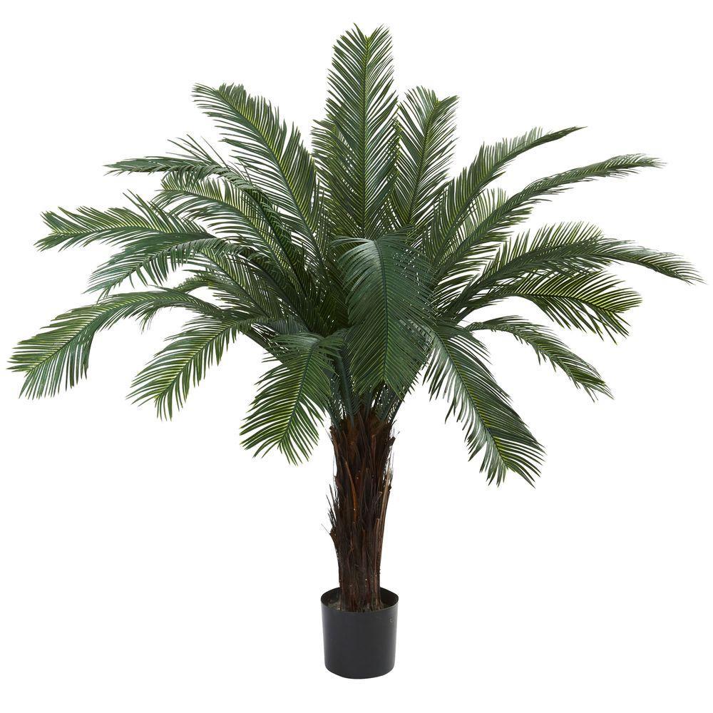 5 ft. UV Resistant Indoor/Outdoor Cycas Tree