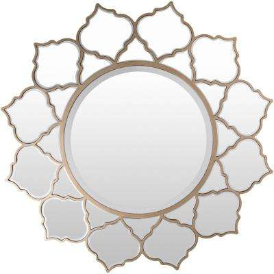 Rufford 39.45 in. x 39.45 in. Contemporary Framed Mirror
