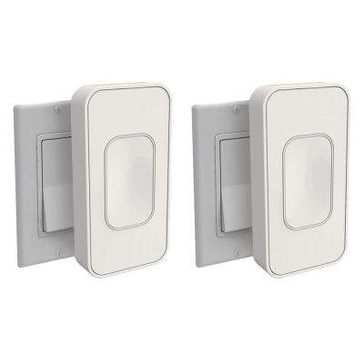 Light Switch Rocker, Ivory (2-Pack)