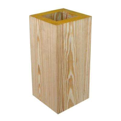 8 in. x 8 in. x 10 ft. C-Grade Pressure Treated High Density Column