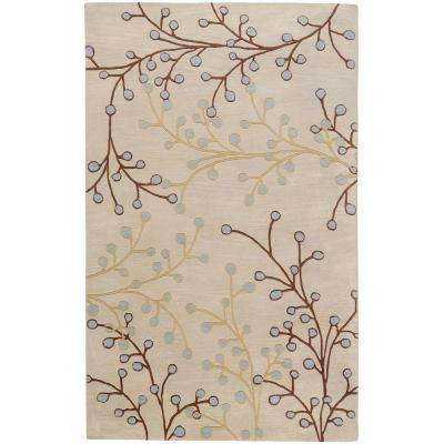 Bari Ivory 7 ft. 6 in. x 9 ft. 6 in. Area Rug