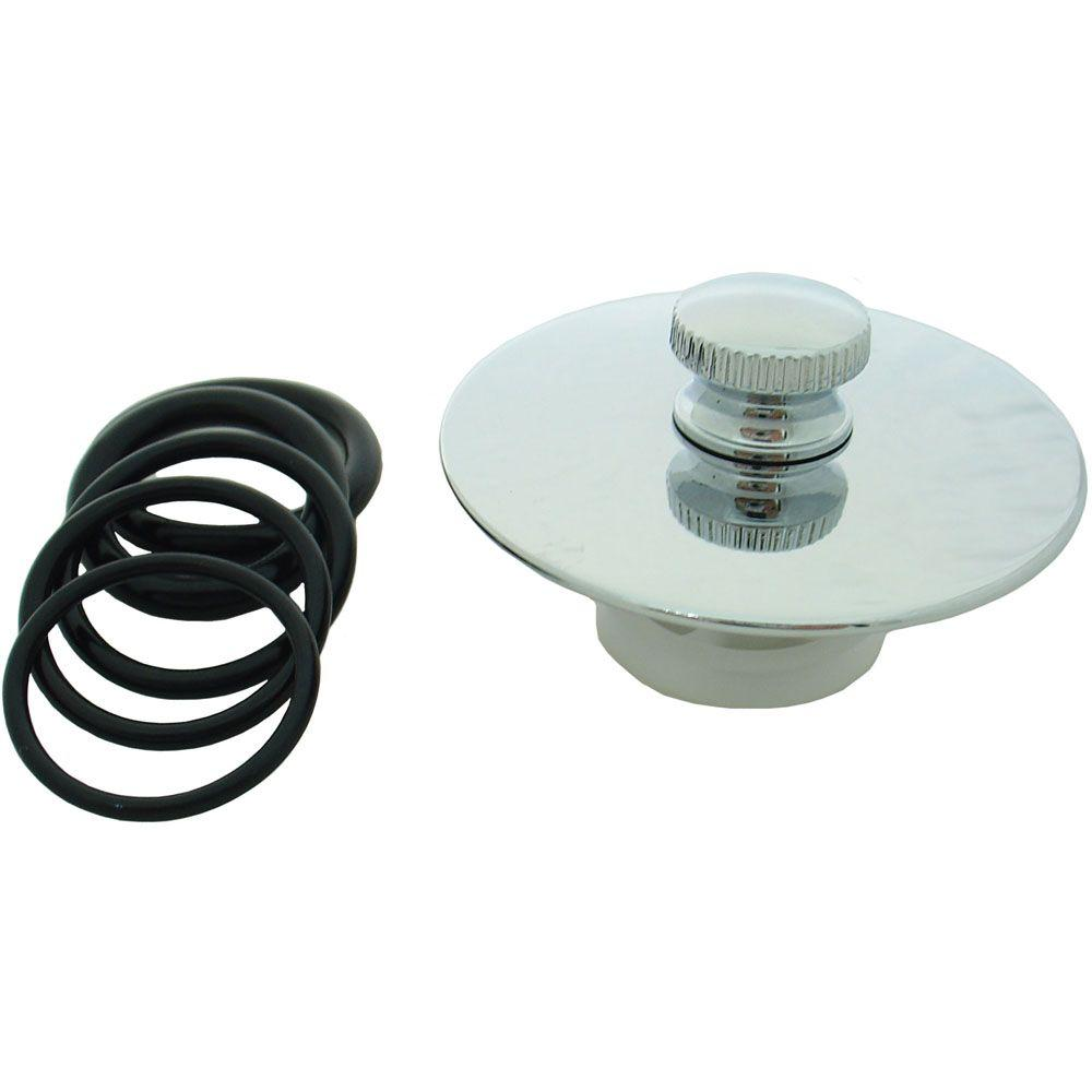 PartsmasterPro Tub Drain Seal Cover in Polished Chrome-51103A ...