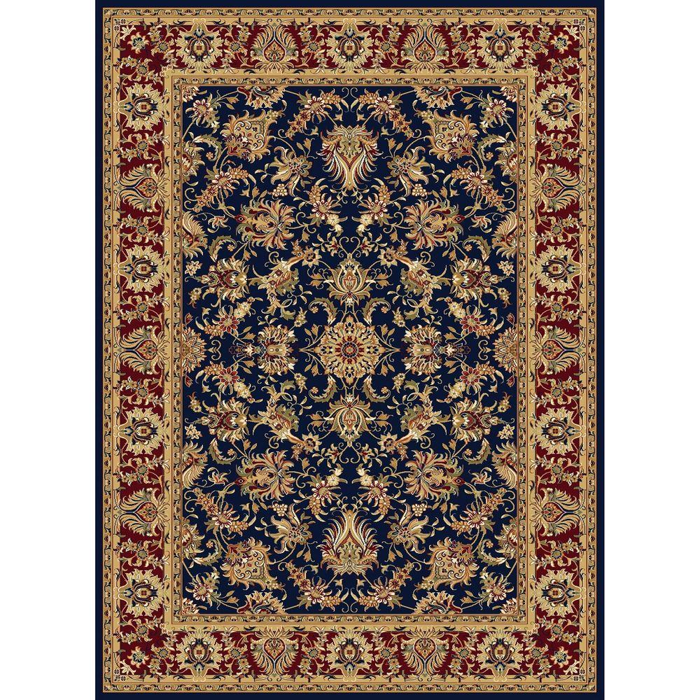 Williams Collection Ararat Navy 6 ft. 7 in. x 9 ft.