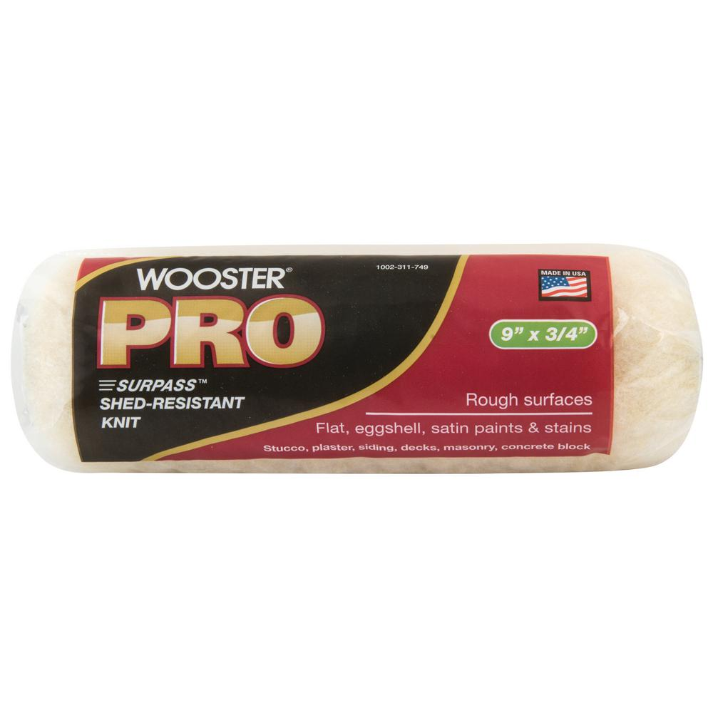 Wooster Pro 9 In X 3 4 In Surpass Shed Resistant Knit