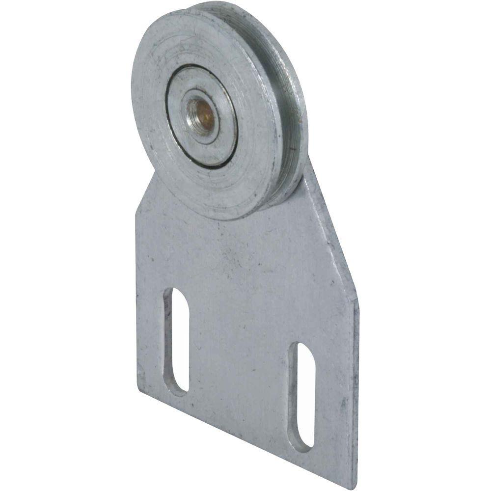 1 in. Steel Sliding Screen Door Roller with Aluminum Top Bracket