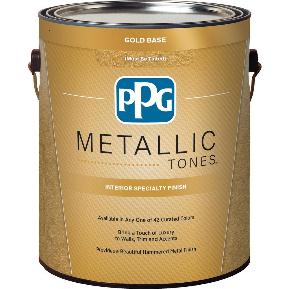 Gold Metallic Interior Specialty Finish
