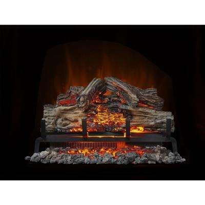 24 in. Electric Log Set with Remote Control