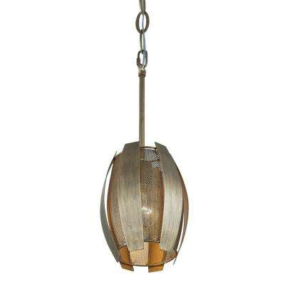 Sawyers Bar 1-Light Havana Gold Mini Pendant