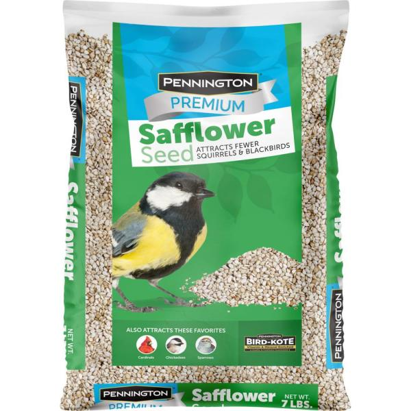 Premium 7 lbs. Safflower Bird Seed Bird Food