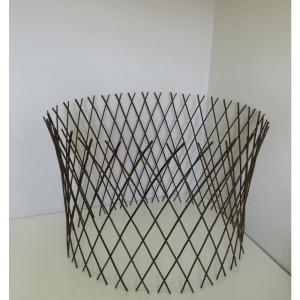 24 inch H x 30 inch Dia Willow Cone Trellis by