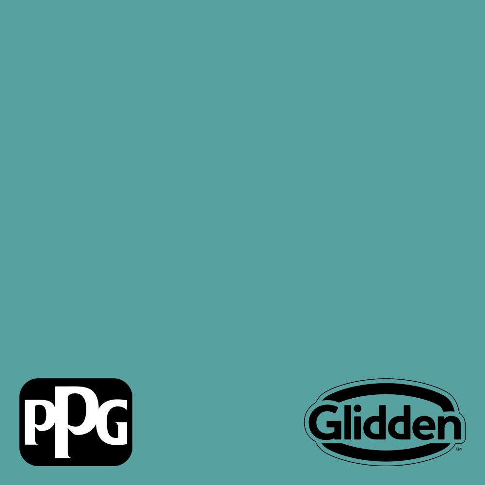 Ppg Timeless 1 Gal Ppg1147 5 Teal Bayou Semi Gloss Exterior One Coat Paint With Primer Ppg1147 5tx 1sg The Home Depot