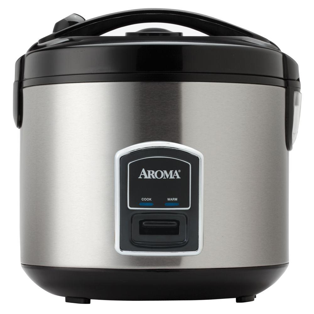 AROMA Cool Touch 20-Cup Rice Cooker