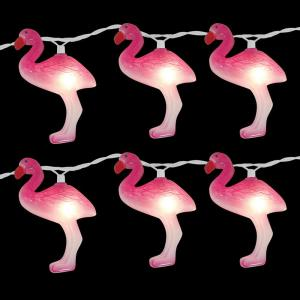 Brite Star 10 Light Flamingo Clear Light Set Set Of 2 96
