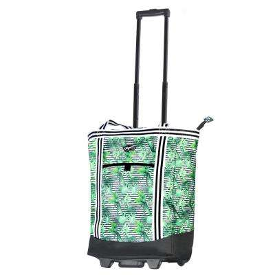 Cooler Buddy Insulated 2-Piece Rain Forest Shopper Tote Bag