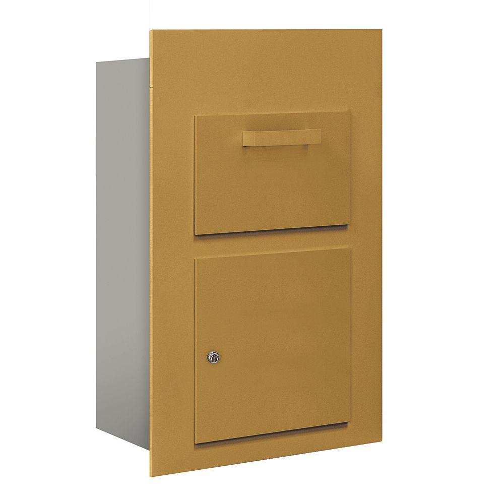 3600 Series Collection Unit Gold USPS Front Loading for 5 Door