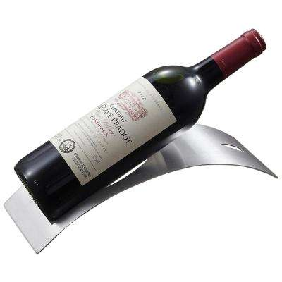Barolo Stainless Steel Wine Bottle Holder