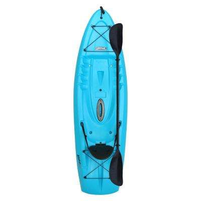 Hydros 101 in. Kayak in Blue with Paddle